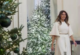 donald trump white house decor melania trump u0027s christmas decorations at the white house include a