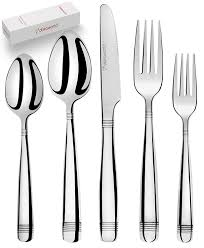 kitchen forks and knives silverware set 18 10 stainless steel