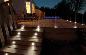 Solar Deck Lights Lowes - outdoor solar deck lights gallery home ideas for your home