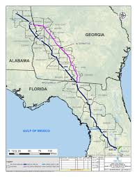 Florida Trail Map by Explain Karst Sinkholes Discrepencies And Routes Around Albany