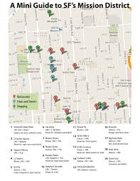 Sf District Map Mission District Food Map Archives Ultimate Bridesmaid