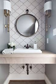 bathroom with wallpaper ideas 15 and chic bathroom wallpaper ideas home decor ways