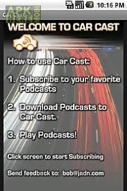 podcasts player for android car cast podcast player for android free at apk here