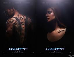 exclusive u0027divergent u0027 posters shailene woodley has tattoos