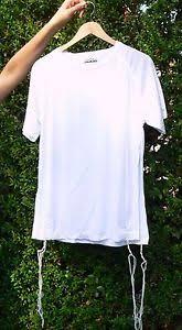 talit katan white dri fit tzitzit size s tallit katan shirt breathable