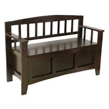 Wooden Bench With Cushion Shop Indoor Benches At Lowes Com