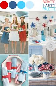 patriotic party palette red white blue the perfect palette