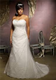 a line strapless lace tulle ruched plus size wedding dress lace up