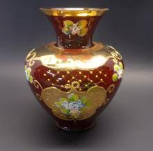 Bohemian Vase Bohemian Glass For Sale At Online Auction Buy Rare Bohemian Glass