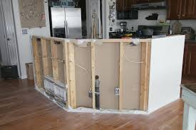 how do you build a kitchen island build kitchen island diy kitchen island with trash storage