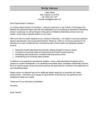 Examples Of Application Letter And Resume by Best Director Cover Letter Examples Livecareer