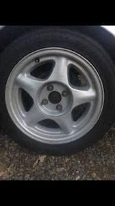 mustang pony wheels 87 93 ford mustang factory pony wheels 4 lug 4x108 16x7 wheels gt