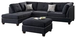 sofa set hillsdale sectional sofa set black contemporary sectional