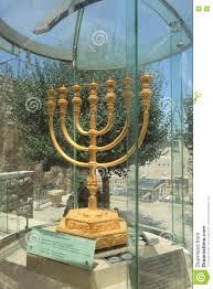 jerusalem menorah golden menorah in jerusalem israel editorial stock photo image