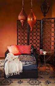 Moroccan Style Decor In Your Home Orange And Brown Home Decor Home Design Ideas