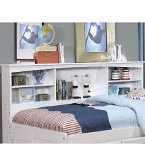 Daybed With Bookcase Cambridge Full Size Bookcase Captain U0027s Day Bed Maranatha Furniture