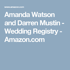 las vegas wedding registry amanda watson and darren mustin wedding registry