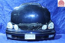lexus sedan jdm toyota aristo lexus gs300 gs400 front end conversion nose cut