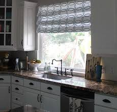 kitchen window treatments ideas pictures ideal kitchen window treatment ideas home designing