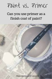 should i put a top coat on painted cabinets paint vs primer and can primer be used as the finish coat