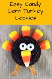 simple oreo turkey cookies oreo turkey oreo and easy peasy