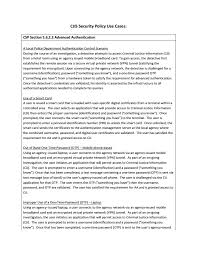 personal quality essay cjis security policy use cases fbi
