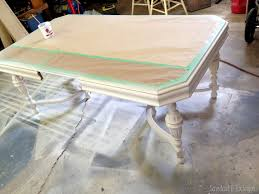 Painted Dining Table by Shading With Stain A Tutorial Stains Tutorials And