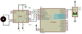 temperature activated light switch temperature controlled dc fan using atmega8 microcontroller