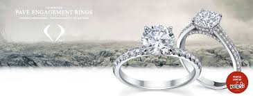 rings pave images Pave engagement rings jpg