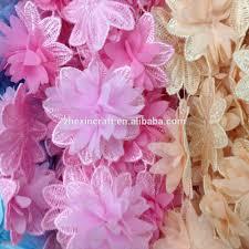 Polyester Flowers - creative bead garment accessories creative bead garment