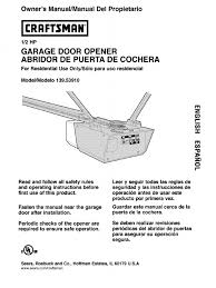 craftsman garage door opener model 139 536 manual wageuzi
