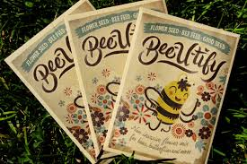 flower seed packets bee u tify flower seeds for bees honey bee suite