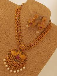 antique necklace set images Designer antique necklace set emporia jewels jpg