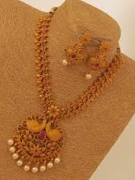 antique necklace set images Designer antique necklace set emporia jewels jpg