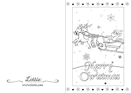 christmas colouring card 3 u2013 lottie dolls uk store