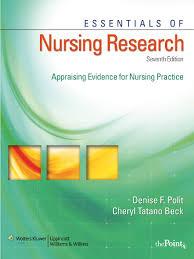 essentials of nursing research appraising evidence for nursing