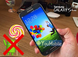 samsung officially will not release lollipop update for the galaxy