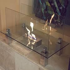 nu flame nf f3fi0 fiero freestanding glass floor fireplace