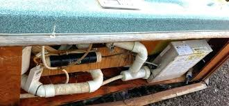 tub cabinet replacement spa cabinet kits old spa control system with dirty plumbing tub