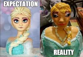 Expectation Vs Reality Meme - cakes expectation vs reality memes imgflip