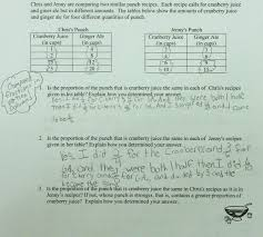 Mixture Word Problems Worksheet Party Punch Compare Ratios Students Are Asked To Compare Ratios