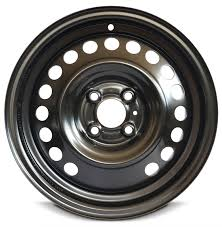 nissan altima lug pattern fits new black steel wheel 12 17 nissan versa 15 inch 4 lug