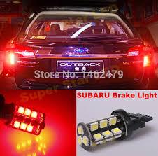 2008 subaru outback brake light bulb 2 x 7443 t20 w21 5w car led stop tail bulbs brake lights bulb for
