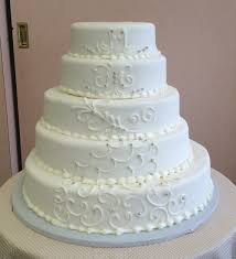 wedding cake no fondant classic wedding cakes sal dom s pastry shop