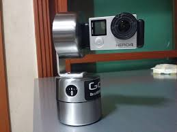 this is my home made gopro pan and tilt timer made from ikea egg
