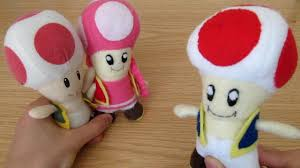 make your own plush make your own toad plush