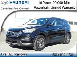 used 2013 hyundai santa fe limited used hyundai santa fe for sale in seekonk ma 101 used santa fe