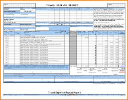Expense Account Template by 6 Expense Report Template Excel Itinerary Template Sle