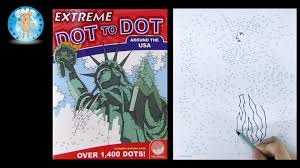 mindware extreme dot to dot around the usa puzzle book review