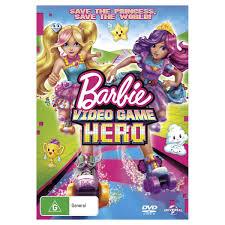 barbie video game hero dvd kmart